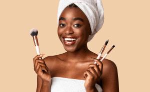 como limpar pinceis de maquiagem